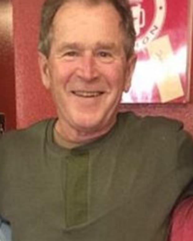 Waitress Slammed For Tasteless George W. Bush Tweet  Promo Image