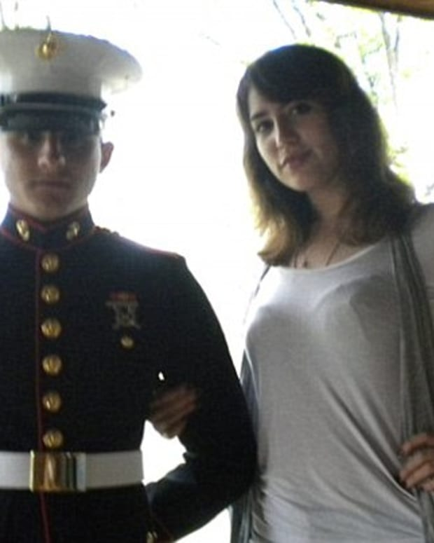 Lance Cpl Cory Killgore and wife Brittany Killgore
