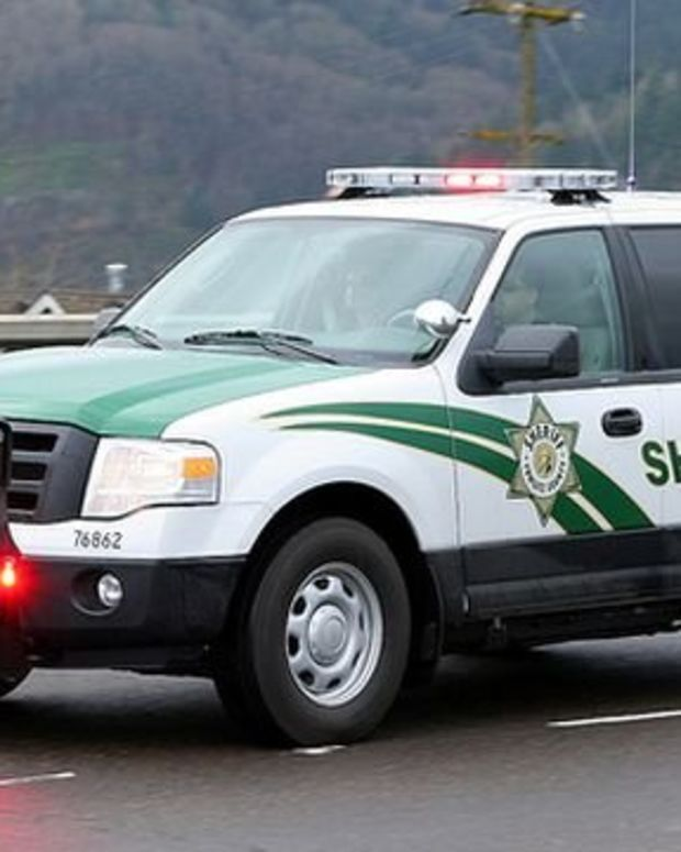 A Cowlitz County Sheriff's Office Patrol Vehicle.