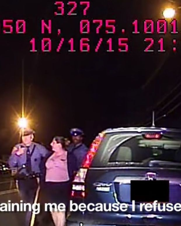 Woman Arrested For Silence During Traffic Stop (Video) Promo Image