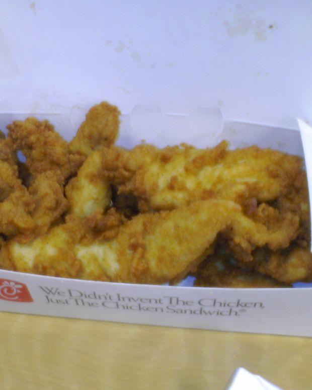 Chick-fil-A chicken strips