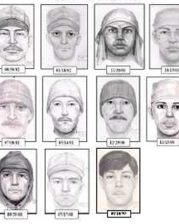 composite sketches of teardrop rapist