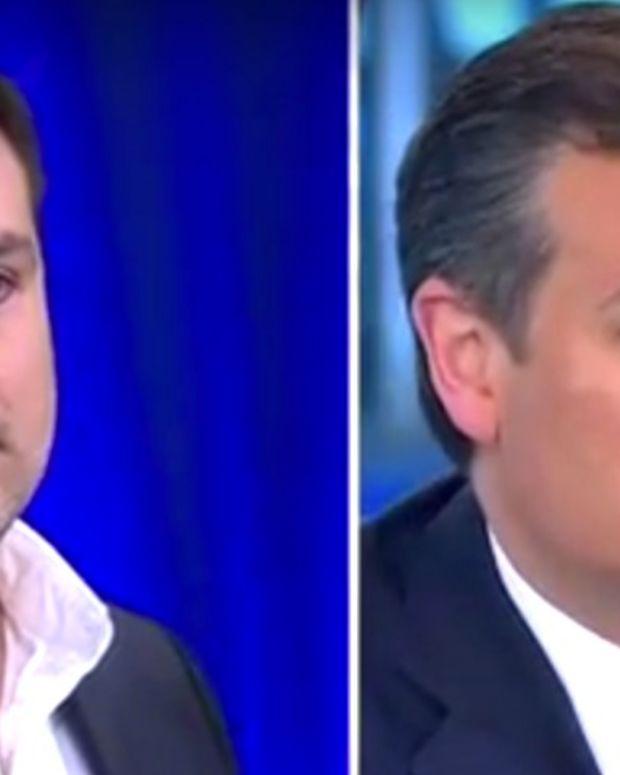 Gay Republican Asks Cruz About Anti-Gay Laws (Video) Promo Image