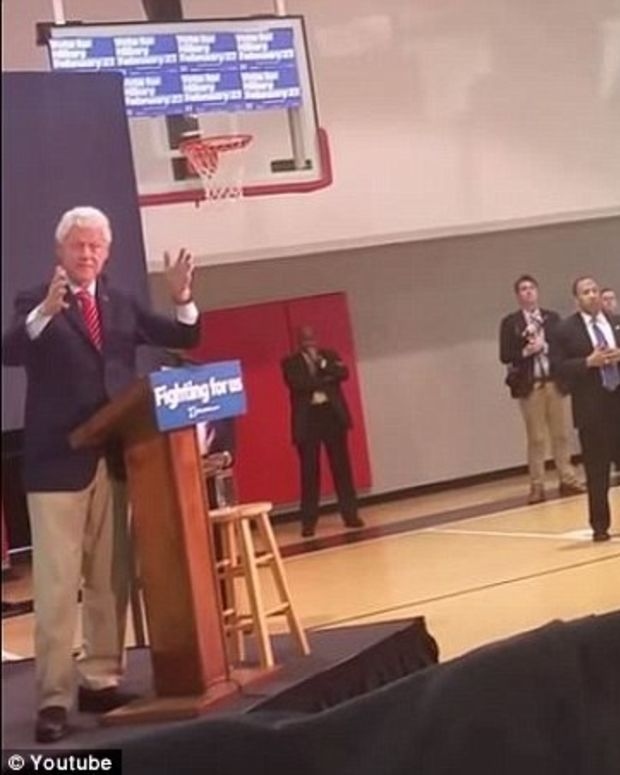 Veteran Interrupts Speech, Bill Clinton Snaps (Video) Promo Image