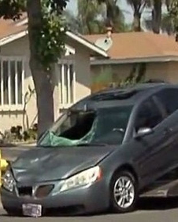 DUI Suspect Drove With Dead Body Stuck In Windshield Promo Image