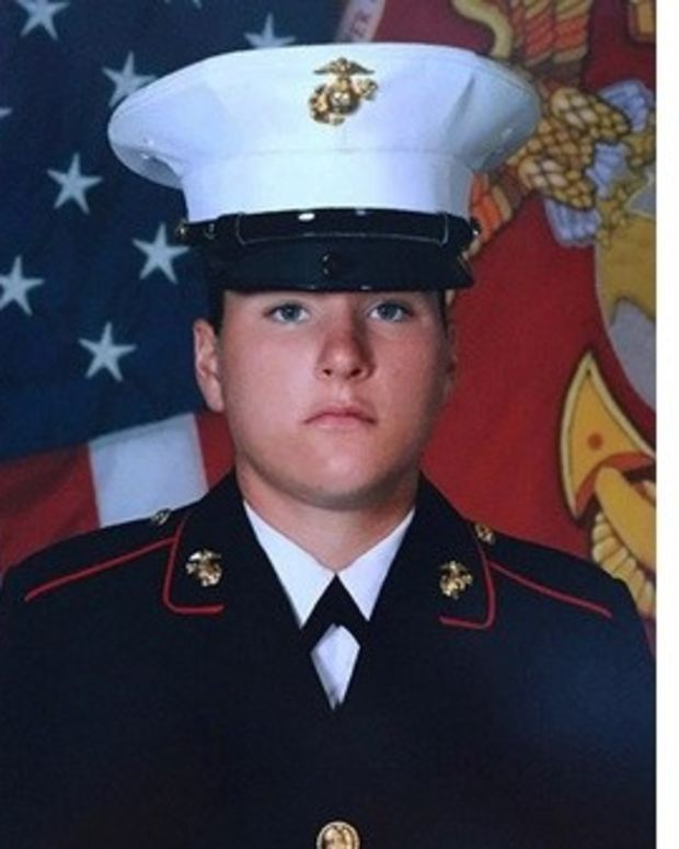 Marine Not Allowed To Walk In Uniform At Graduation Promo Image