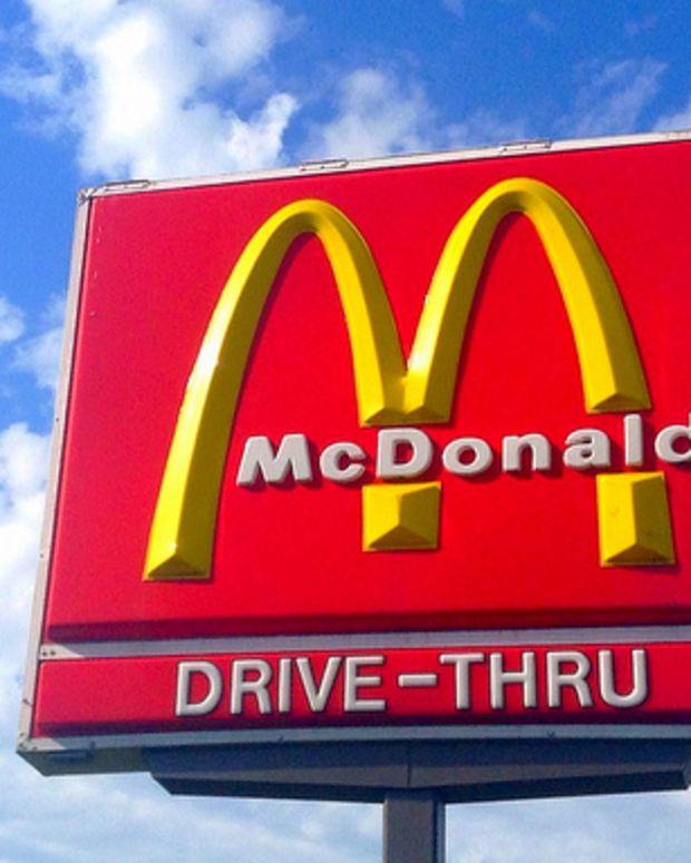 a McDonald's restaurant