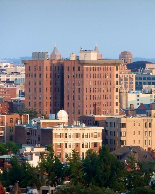Apartment buildings in Washington, DC