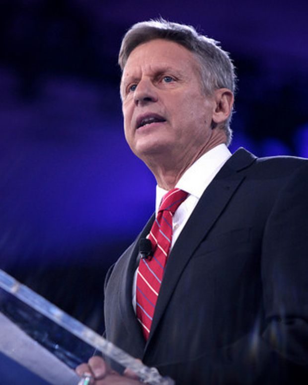 Libertarian Party Nominates Gary Johnson For President Promo Image