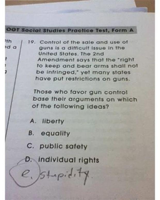 Test Answer.