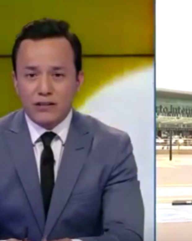Mexican Reporter Hit By Car