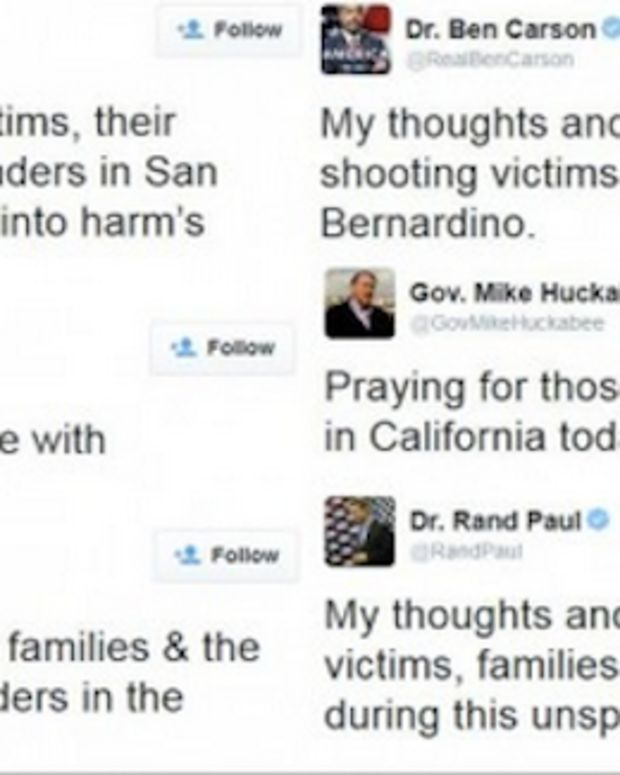 Thoughts And Prayers GOP Twitter
