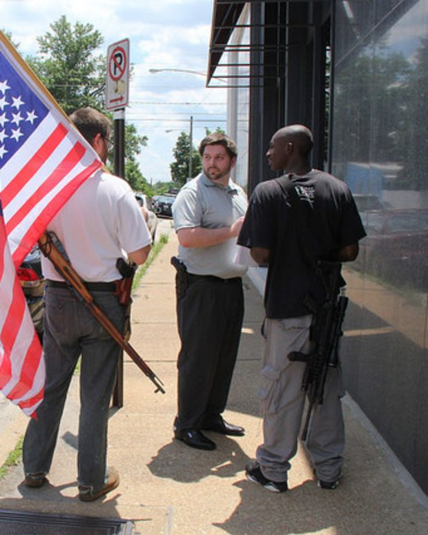 Oklahoma House Passes Open Carry Law Promo Image