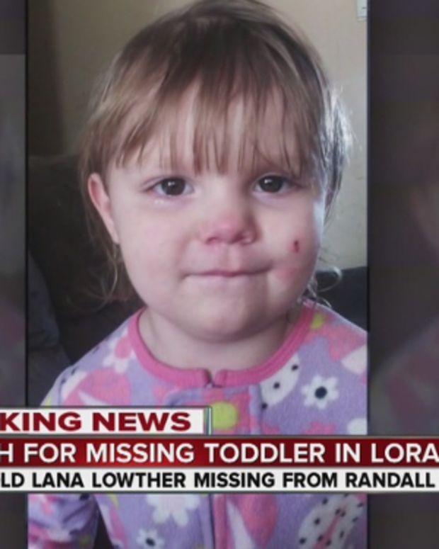 missing toddler, Lana Lowther