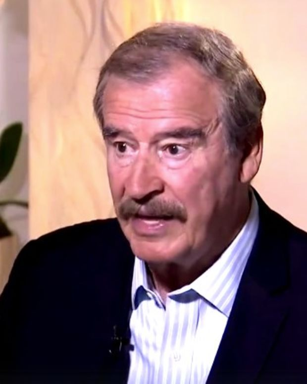 Former Mexican President: Not Paying For Trump's Wall (Video) Promo Image
