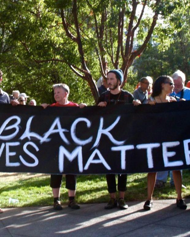 Students Change Police Display To 'Black Lives Matter' Promo Image