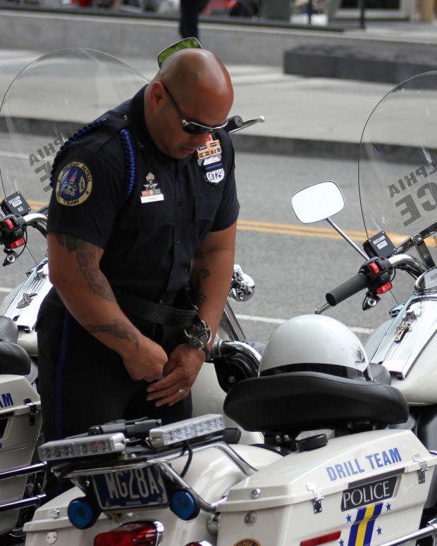 A Philadelphia Police Officer