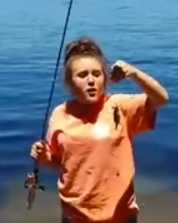 Dying Fish Viral Video.