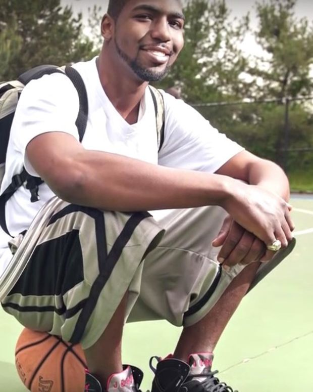 Man Carried Artificial Heart Device In Backpack (Video) Promo Image