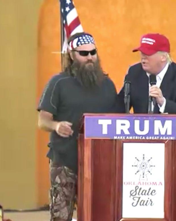 Donald Trump Willie Robertson