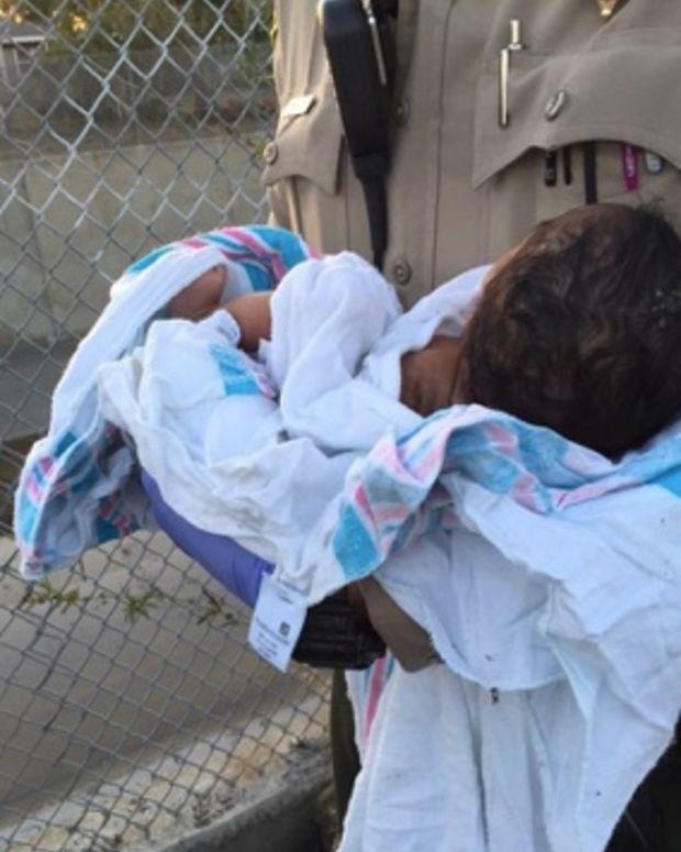 Newborn Buried Near Compton Riverbed.