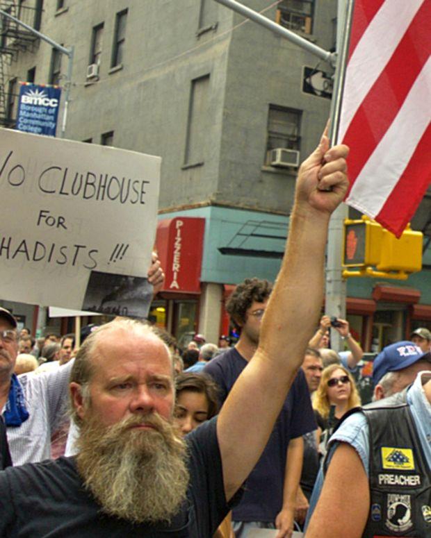 Anti-Muslim Protest.