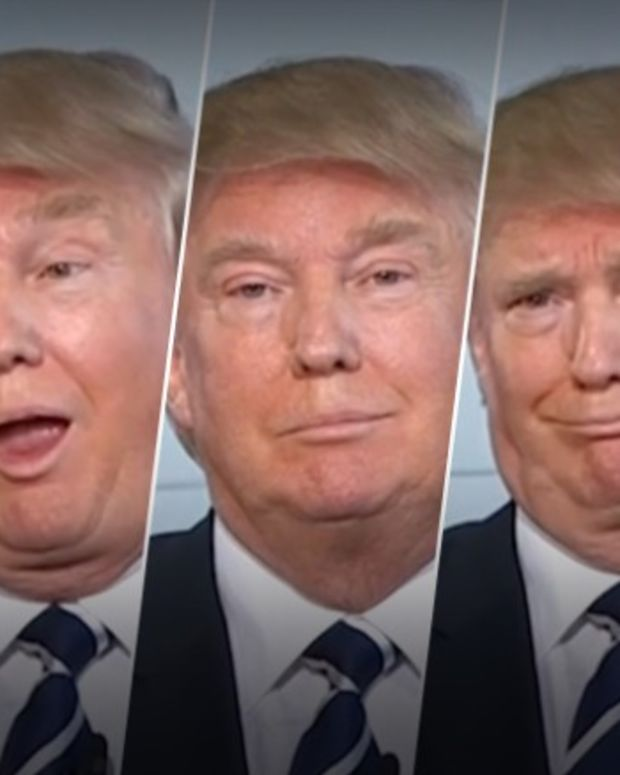 Donald Trump's typical expressions