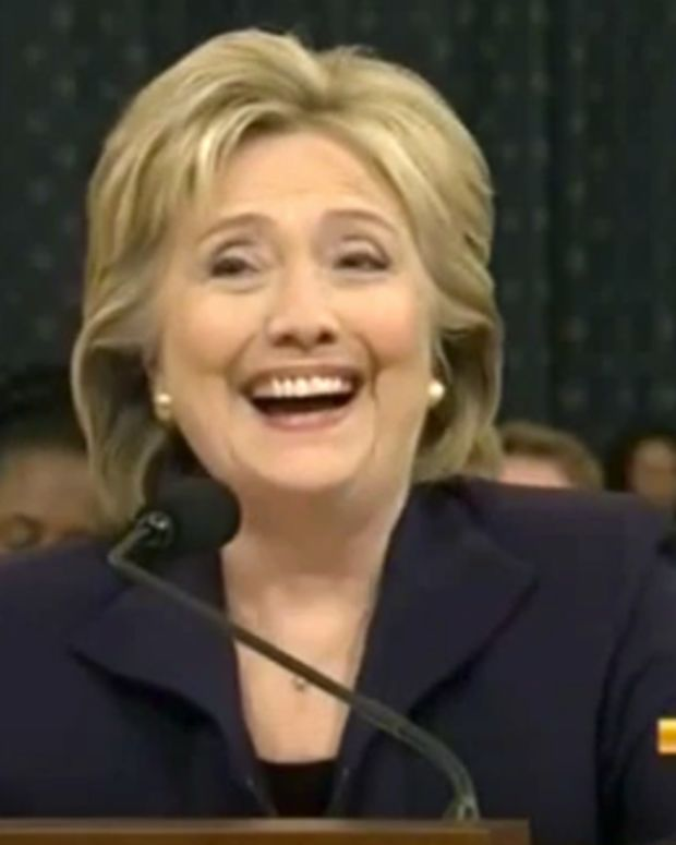 Hillary Clinton Laughter