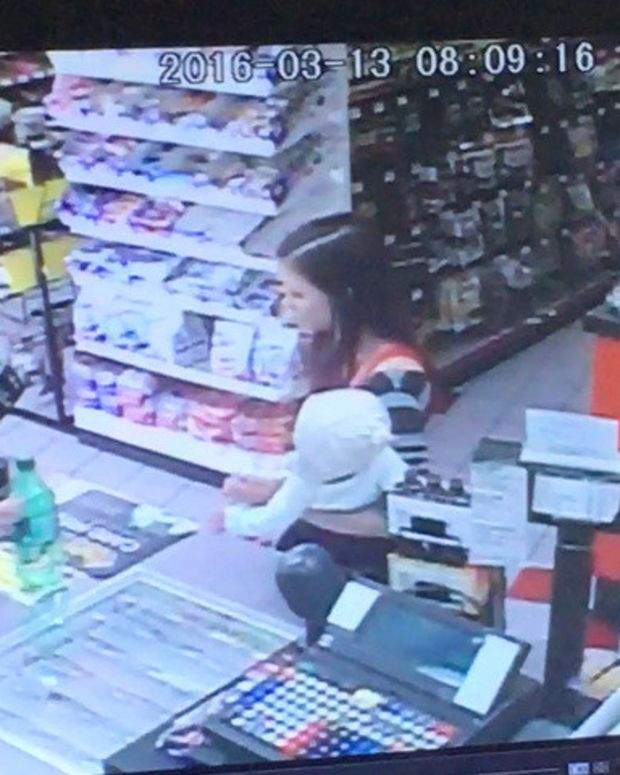 Mother Has Seizure, Store Clerk Saves Baby From Fall Promo Image
