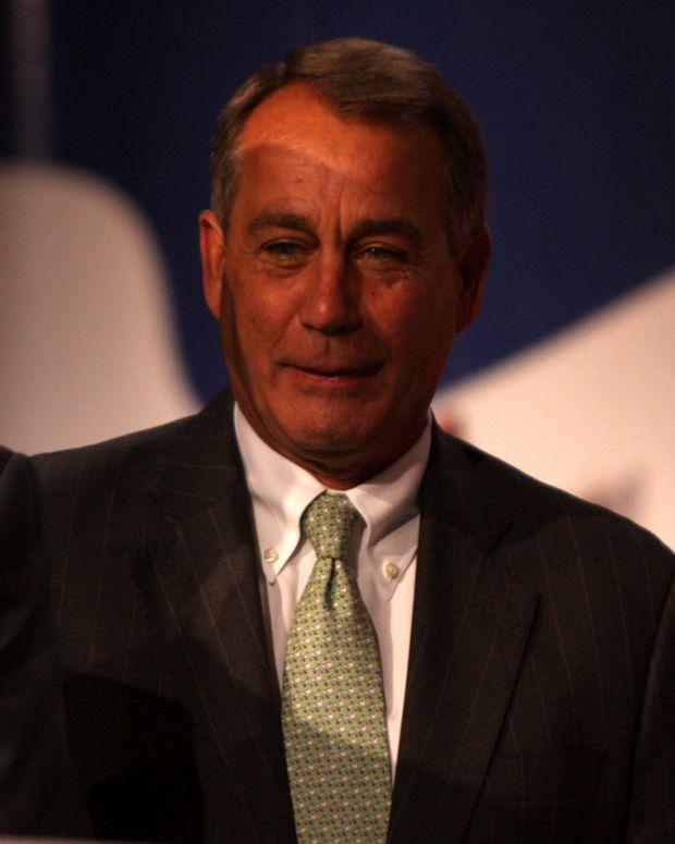 Republican House Speaker John Boehner
