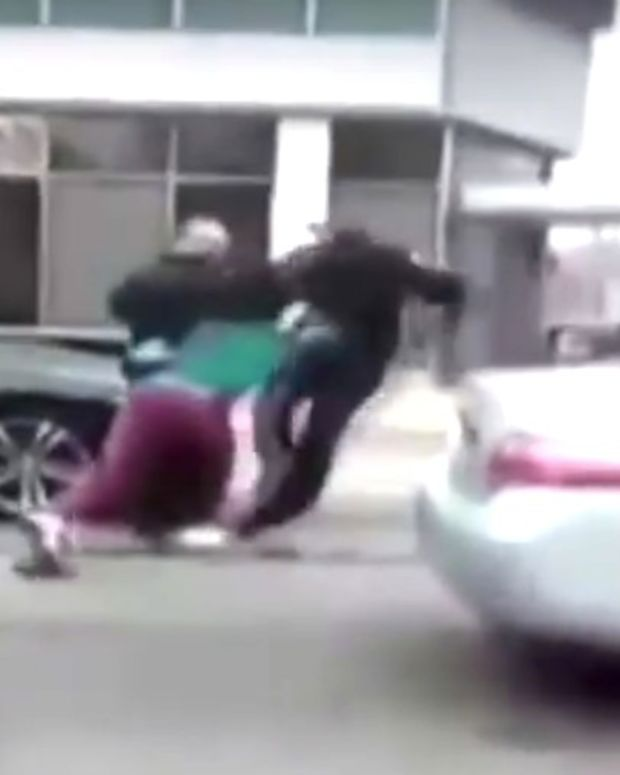 Officers Attacked Outside High School (Video) Promo Image