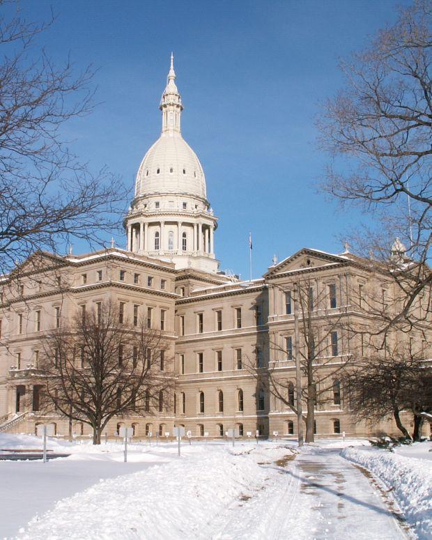 Michigan Capitol Building.