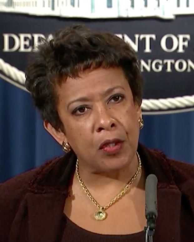 U.S. Attorney General Loretta Lynch.