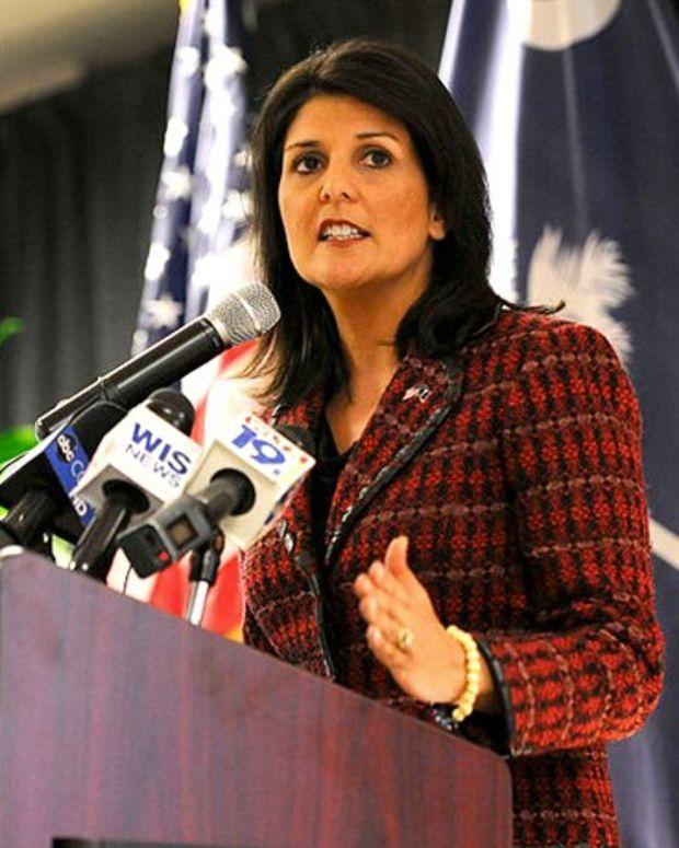 GOP South Carolina Gov. Criticizes Trump's Rhetoric Promo Image