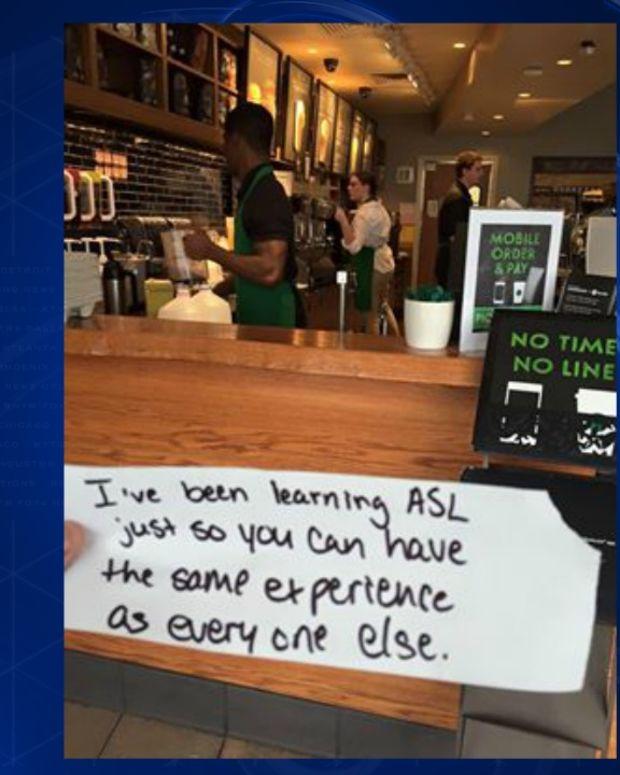 Starbucks note