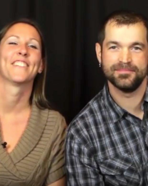 Melissa and Aaron Klein.