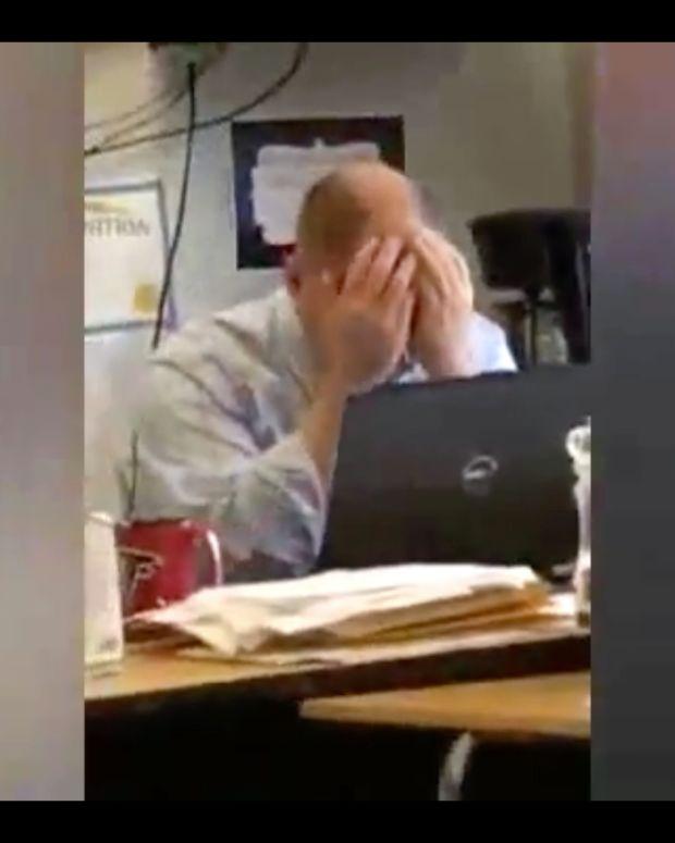 Teacher Breaks Down Over Prince's Death (Video) Promo Image