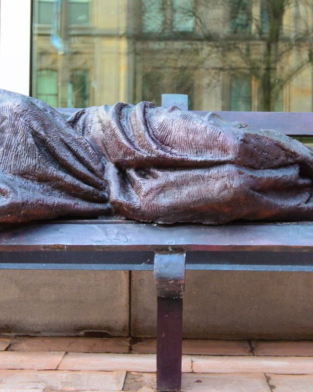 UK City Rejects Church's 'Homeless Jesus' Statue Promo Image