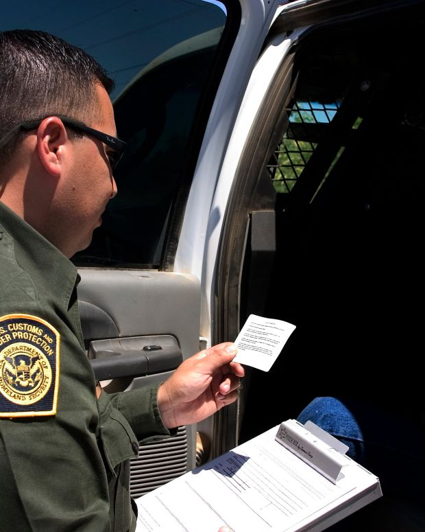 Border Patrol Agents Divided On Trump Endorsement Promo Image