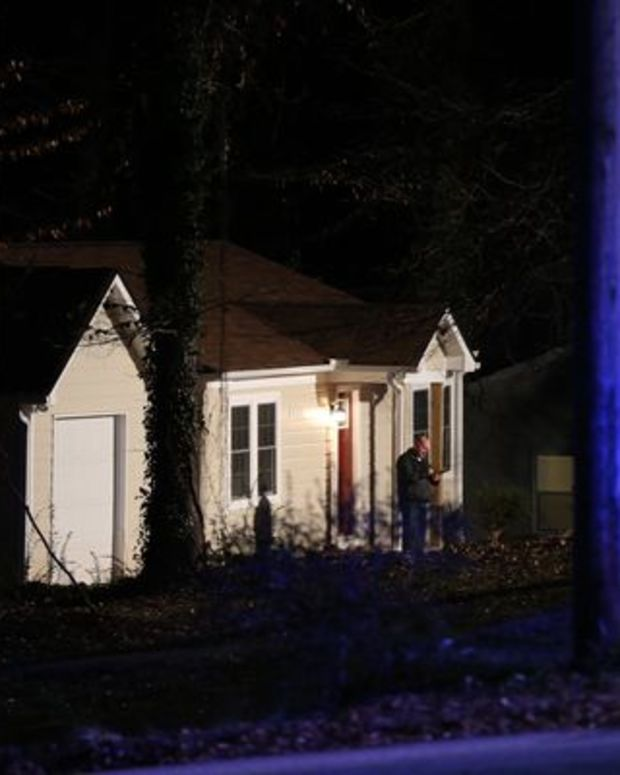 a home where an intrusion took place