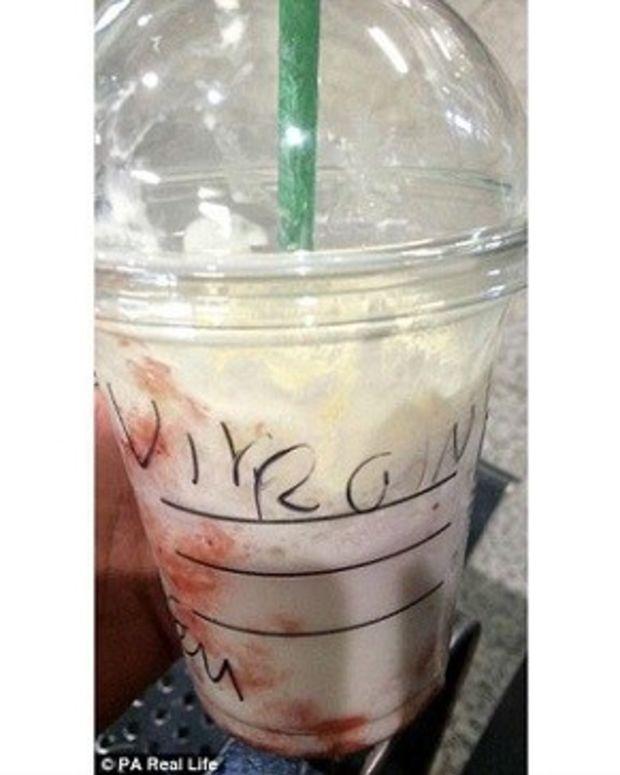Starbucks Worker Writes 'Virgin' On Woman's Cup (Photos) Promo Image