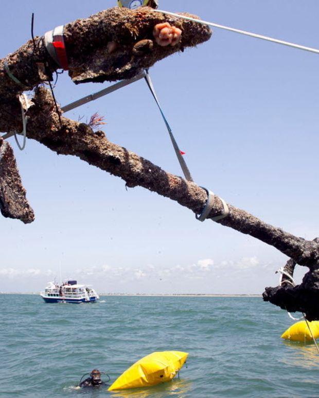 Archaeologists Stumble Upon Pirate Shipwreck Promo Image
