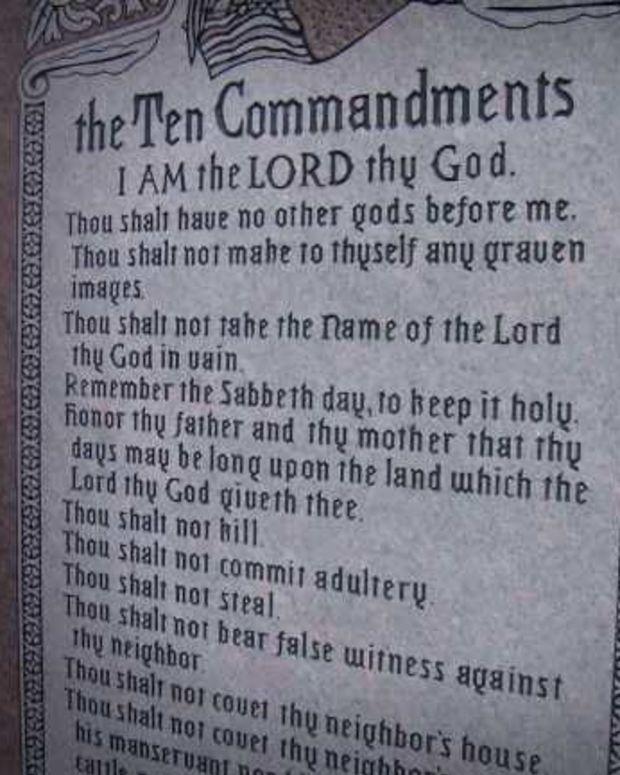 Ten Commandment Monument May Return To Oklahoma Capitol Promo Image