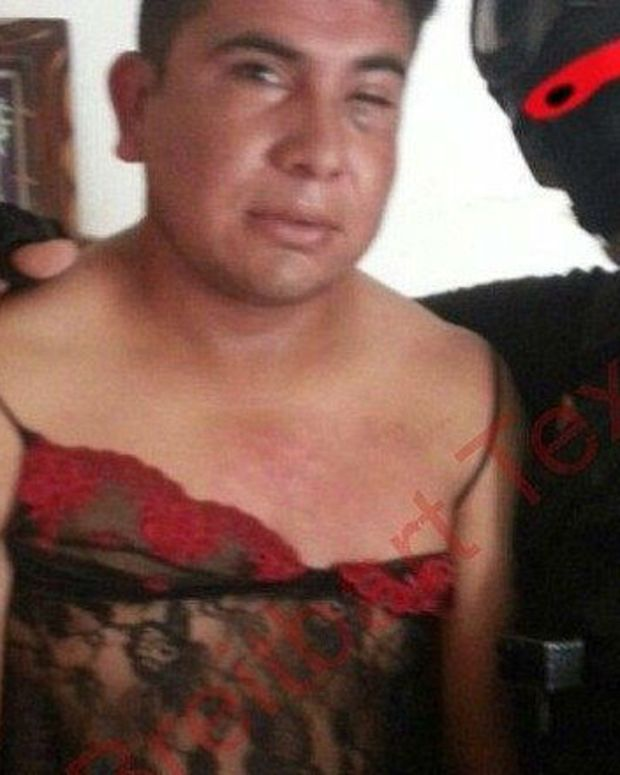 Mexican Marine Forces Drug Cartel Members Into Lingerie Promo Image