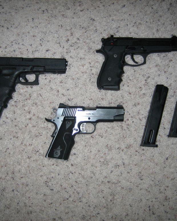 Firearms.