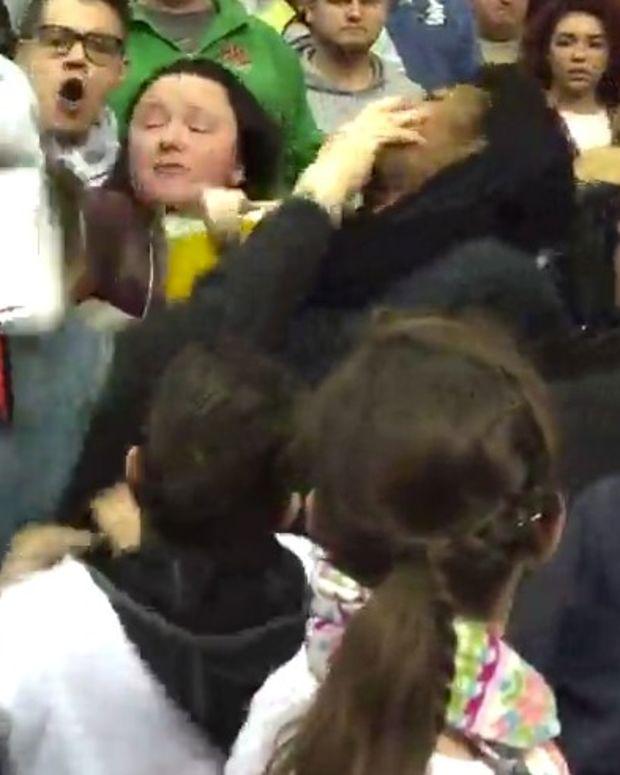 Trump Supporter Attacks Black Protester (Video) Promo Image
