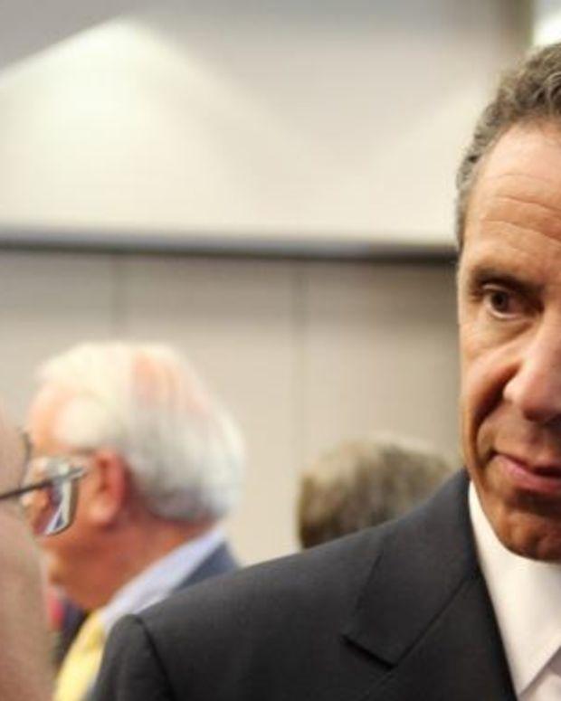 NY Governor Boycotts Groups That Boycott Israel (Video) Promo Image