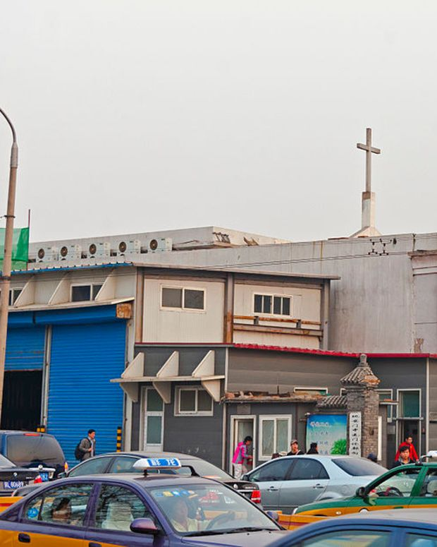 China Accused Of Tearing Down And Burning Crosses Promo Image