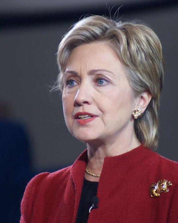 Hillary Clinton in 2007