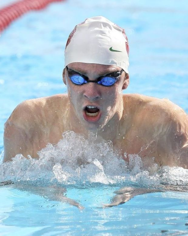 Swimmer Found Guilty Of Raping Unconscious Woman Promo Image